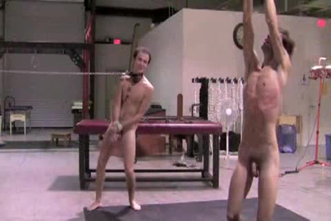 TWO young SLAVES' TRAINING