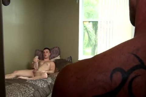 stroking dude Caught And plowed