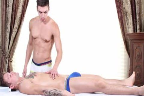 GayRoom - Anthony Veruso Massages And pounds Jonathan Kross