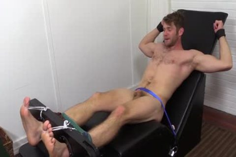 Colby Keller With A perfect Body receives A Foot And Toe Tickle