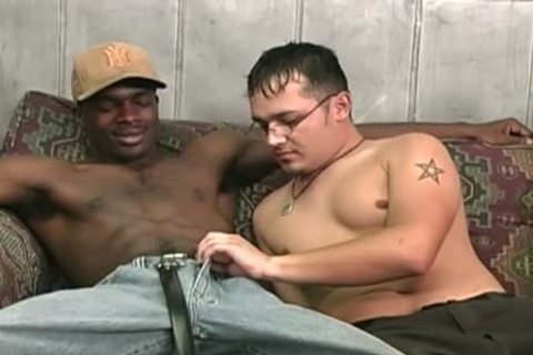 Hung black fellows Sharing A lascivious White guy