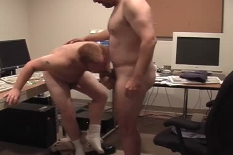 Two excited Hunks acquire bare In The Office And dril wazoo