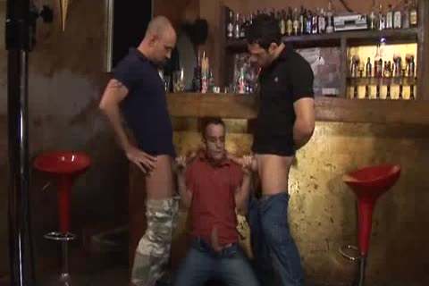 gangbang At The Bar