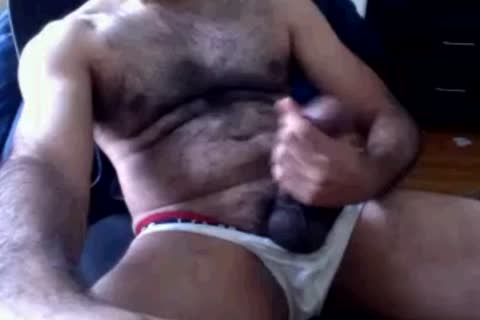 This guy Has A enormous Ol cock Sitting In 'em Undies