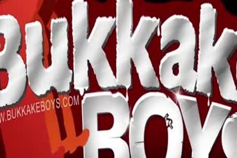 legal age teenager's Bukkake Turns Into An orgy