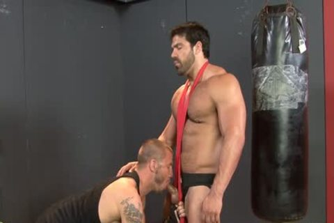 moist dicks plowing Their taut Buttholes In The Gym