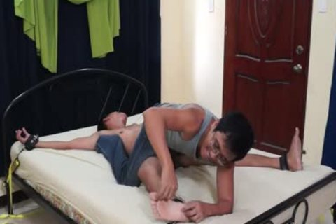 wild Diego tied And Tickled
