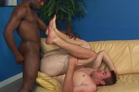 A White lad And A black Thug sucking Off Each Other