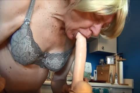 lusty Gigi - fake dick pleasure With Noballs And giant lad