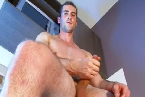 Full movie: A admirable innocent str8 lad Serviced His humongous penis By A lad.
