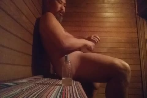 Sauna enjoyment With toys
