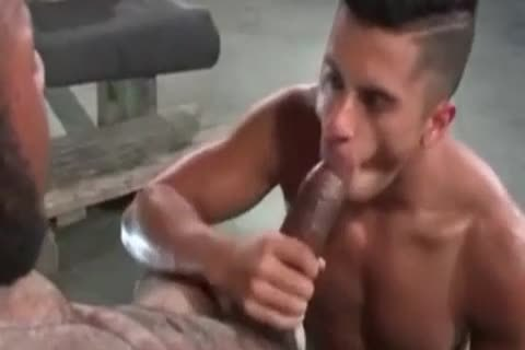 A Very attractive Latino homosexual dude Likes Some coarse Greek From A humongous African Shaft