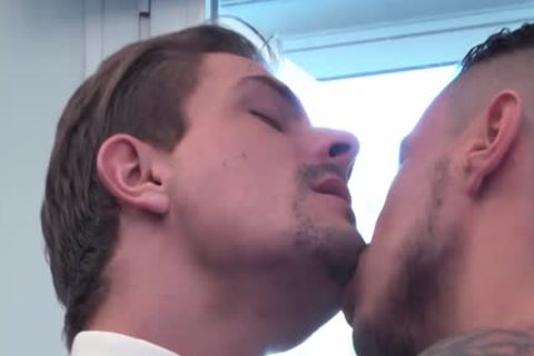 Muscle homo anal job With ejaculation