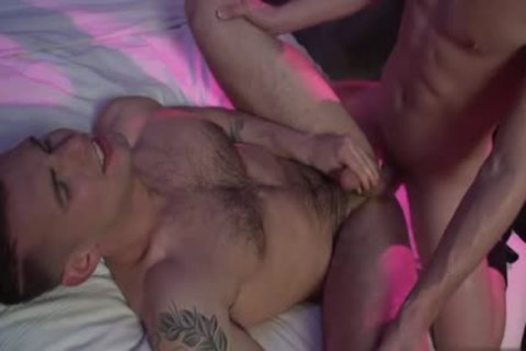 brunette hair homosexual butthole job And Facial