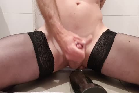 monstrous fake penis Ride, butthole Stretch Training, And Fisting My monstrous Cun
