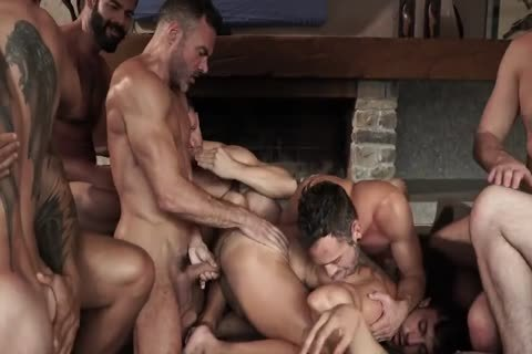 unprotected With 11-man's orgy