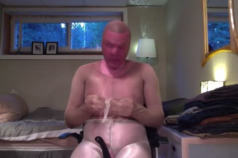 Fullbody hose Encasement Layering Nylon cum