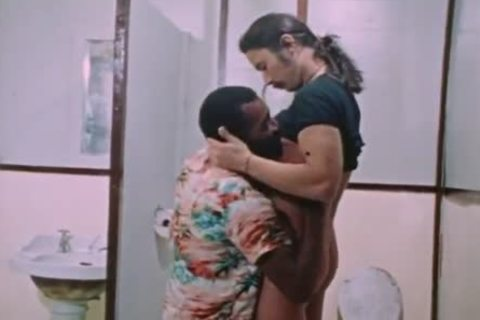 Interracial encounter In Restroom (from 'Diary Of An M')