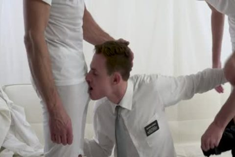 Fit Church twink Spitroasted By large Uncut cocks